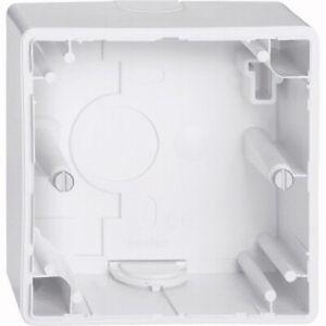 Merten Aufputz-Gehäuse 1-Fach ARTEC/M-1/M-SMART Aktivweiß glänzend MEG4014-1425