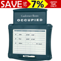 NEW Quartet Meeting Conference Room Sign Scheduler White Board Occupied QT995