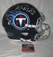 MARCUS MARIOTA signed TENNESSEE TITANS Authentic Speed Proline Helmet - JSA