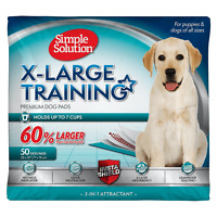 Simple Solution Extra Large Dog Training Pads, 28x30, 50 ct
