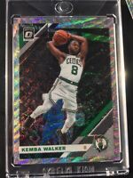 2019-20 Donruss Optic Basketball Kemba Walker Silver Wave Prizm Boston Celtics