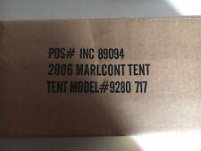2006 MARLBORO ADVENTURE TEAM  7' x 7' Coleman Sundome Tent New w/box & paperwork