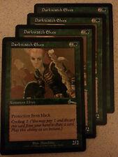 Darkwatch Elves playset NM Urza's Legacy URL MtG Magic