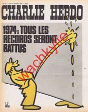 Charlie Hebdo n°163 du 31/12/1973 Pipi Gébé Cabu à Montauban (2p)