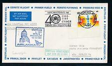 97116) AIRLANKA FF Berlin - Frankfurt 20.12.91, Brief ab UNO Wien o UNHCR