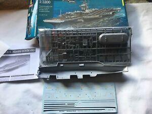 1/1200 Revell USS Nimitz CVN-68 kit