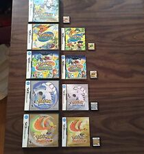 Pokemon Ranger+Shadows of Almia+Guardian Signs +HeartGold+SoulSilver (DS LOT)