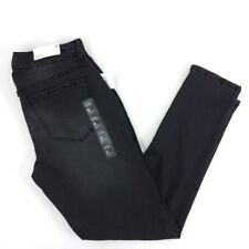New Rue 21 Mid rise Skinny ankle Jeans 8 womens black washed jeggings