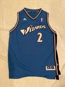 John Wall Washington Wizards Rookie Jersey Youth XL Adidas NBA blue bullets 2010