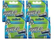 Dorco Pace 6 Plus, 4 Packs DEAL - 16 Cartridge, Six Blade Razor System + Trimmer