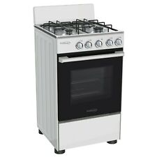Premium 20' Gas Stove 4 Burners Glass Oven Door