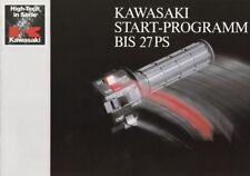 P + Kawasaki + Start-programma fino a 27 CV: 6 motociclette in 8 pagine prospetto