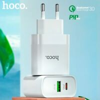 HOCO USB Charger Quick Charge QC PD Charger 18W QC4.0 QC3.0 USB Type C