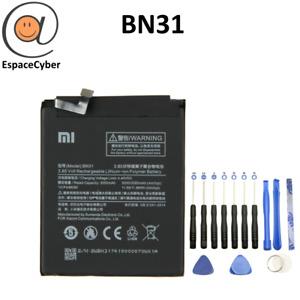 Batterie Xiaomi BN31 - Redmi Mi A1 / Mi 5X / Note 5A / S2 / Y1 / Y1 Lite / Y2