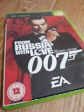 Jeux Xbox Original From Russia With Love 007' James Bond complet manuel libre.