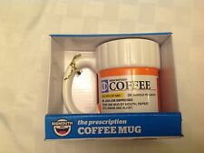 Bigmouth, Inc. Novelty Prescription Coffee Cup Mug 12 oz~ NEW In Box