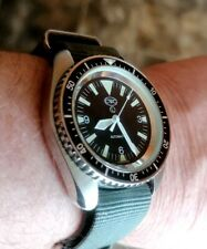 """SUPERB VINTAGE CWC """"AUTOMATIC"""" MILITARY ISSUED ROYAL NAVY MENS DIVERS WATCH"""