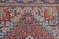 Antique Genuine Persian Heriz Serapi Rug Heriz Carpet Estate Find 11x17 Must See