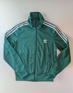 Adidas Originals Women's Firebird Track Jacket Green ED7535 M