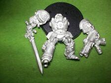 Warhammer 40K Gris Caballero Terminator Con Incinerador