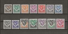 NORTHERN RHODESIA 1953 SG 61/74 MNH Cat £