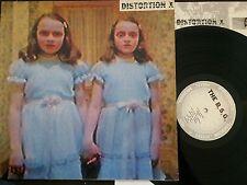 The Beck Session Group / Distortion X (Split Album), Vinyl, Germany '88 vg++