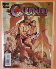 CONAN SAGA #95 ~ FN/VF 1995 MARVEL COMICS MAGAZINE ~ ROY THOMAS STORY