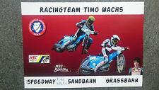AK m.Orig.AG Timo Wachs GER Speedway Grasbahn Weltklasse