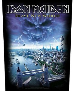 Iron Maiden Brave New World giant sew-on back patch 360 mm x 290 mm (rz)