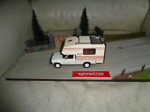 Ixo 1/43 - Peugeot 504 Dangel Azur 1983 / Camping Car - AL