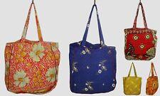 50pc Lot Vintage Thela Bag Indian Handmade Shoulder Bag Women's Kantha Tote Bags