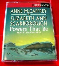 Anne McCaffrey/Elizabeth Ann Scarborough Powers That Be Petaybee 2-Tape Audio