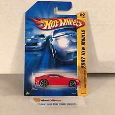 #2  Chevy Camaro Concept #2 * Orange * 2007 Hot Wheels * e38