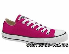 Womens Unisex CONVERSE All Star FUCHSIA PINK OX CHUCKS Trainers Shoes UK SIZE 5