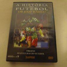 DVD A Historia do Futebol * Um Jogo Magico * Origens as Culturas do Futebol