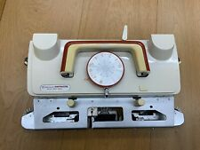 EMPISAL_KNITMASTER SILVER REED 360/260L LACE CARRIAGE KNITTING MACHINE TRICOTER