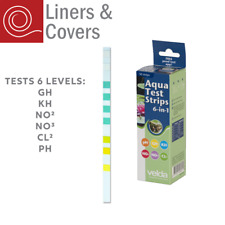 More details for velda pond water test strips 6-in-1 quick quality check