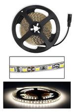 Striscia led 2835 strip led 5 metri bobina 600 led smd luce naturale 4000 k ip22