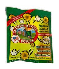 Popcorn Machine supplies - Country Harvest Sunflower Oil Portion pack 4oz