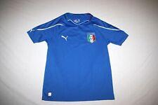 Italia Italy Puma Jersey Youth L Blue NEW