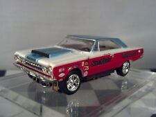 SOX & MARTIN PLYMOUTH GTX  MoDEL MoToRING  T-jet HO Scale Slot Car Custom wheels