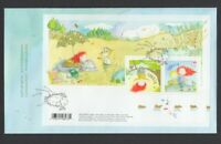 STELLA = book & cartoon character = SS of 2 stamps FDC, OFDC, Canada 2013
