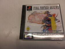 PlayStation 1  PSX  PS1   Final Fantasy Origins Final Fantasy Origins
