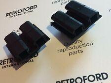 Ford Escort MK3/XR/RS New bumper end cap clips