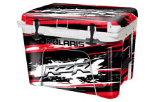 Custom Cooler Wrap Sticker Decal fits Yeti 35Qt Full Rzr SxS Red
