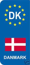 2 Stickers Europe DK DANMARK