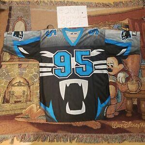 Vintage 1995 Rare Carolina Panthers All Over Design Starter Jersey Men's L.