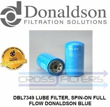 DBL7349 (ELF7349)  Lube Filter,Spin-on full flow Donaldson Blue (Pack of 2)