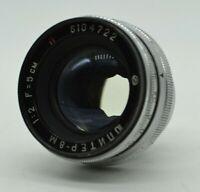 💥Soviet Lens Jupiter 8m💥 50mm f/2 Mount CONTAX KIEV Vintage Russia USSR 💥