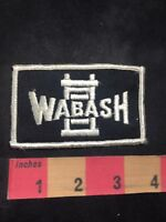 Vtg (circa 1970s) WABASH Advertising Patch O80N